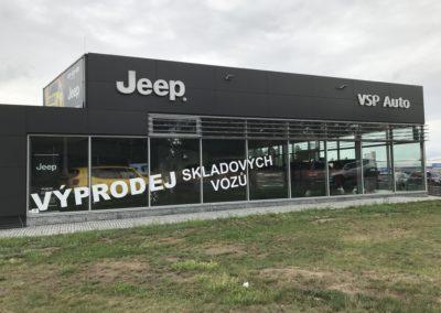 Autosalon JEEP Plzeň