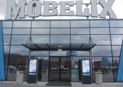 Obchodní dům Möbelix Karlovy Vary