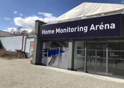 Home Monitoring aréna Plzeň