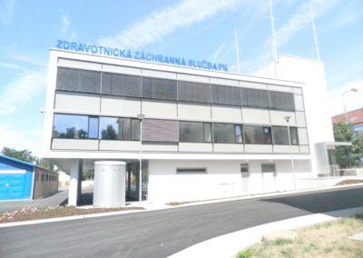 Stanice zdravotnické záchranné služby PK